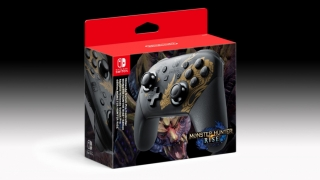 Nintendo Switch Pro Controller Monster Hunter Rise Limited Edition